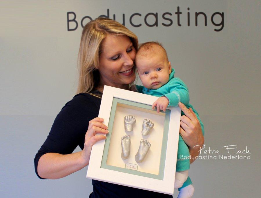 Baby Kind Beeld Bodycasting Nederland