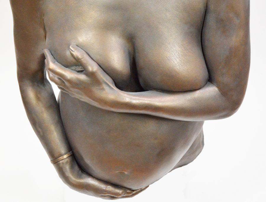 Bodycasting, lifecasting, zwanger beeld, gipsafdruk, zwangershap afdruk buik, 3D sculptuur zwangere7 .jpg