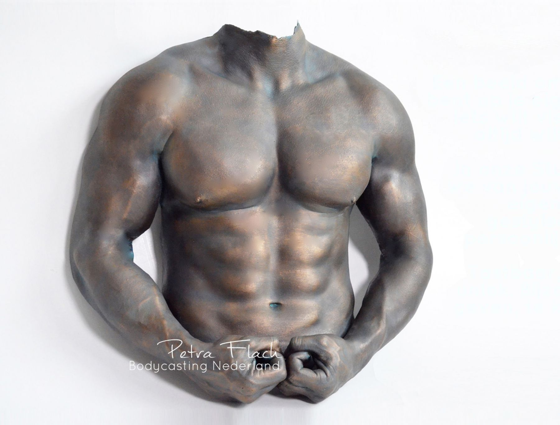Torso Male, Fitness, Bodycasting, Lifecasting, exclusive, Petra Flach, Art, Kunst, 3D Sculpture.jpg